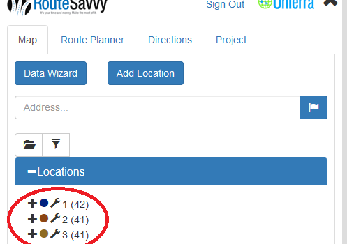 Route Planner Features: A Focus On RouteSavvy's Folders Feature