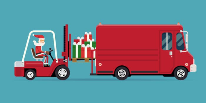 Route Planning Software Improves Christmas Fleet Management